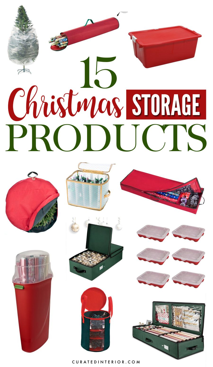 15 Christmas Storage Products