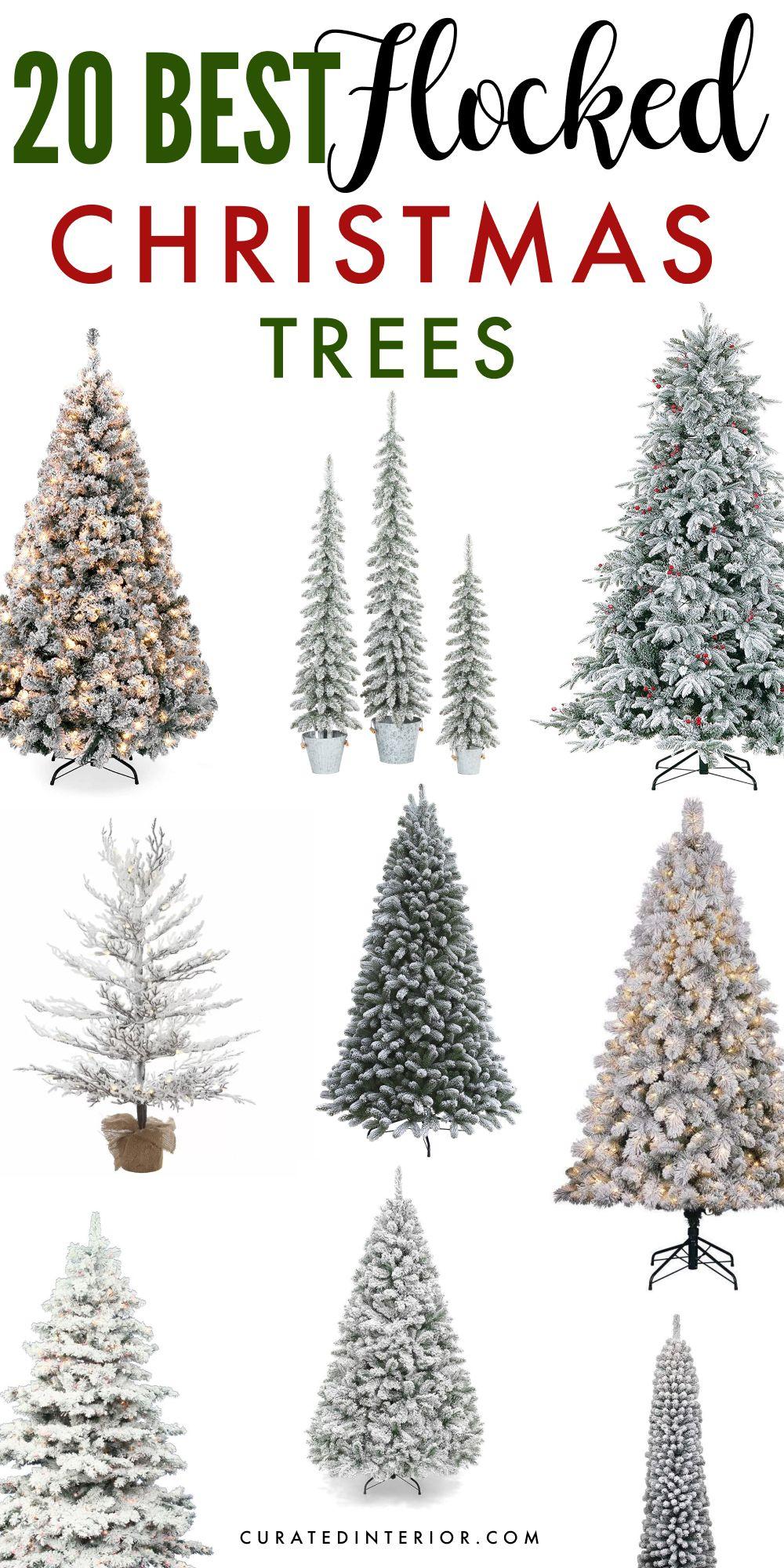 20 Best Flocked Christmas Trees