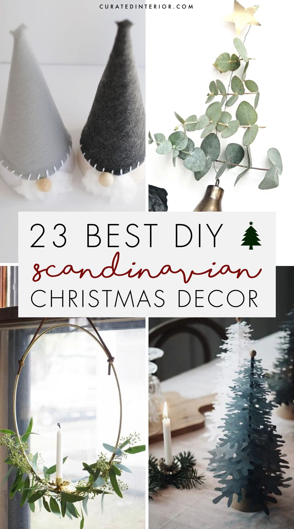23 Best DIY Scandi Christmas Decor