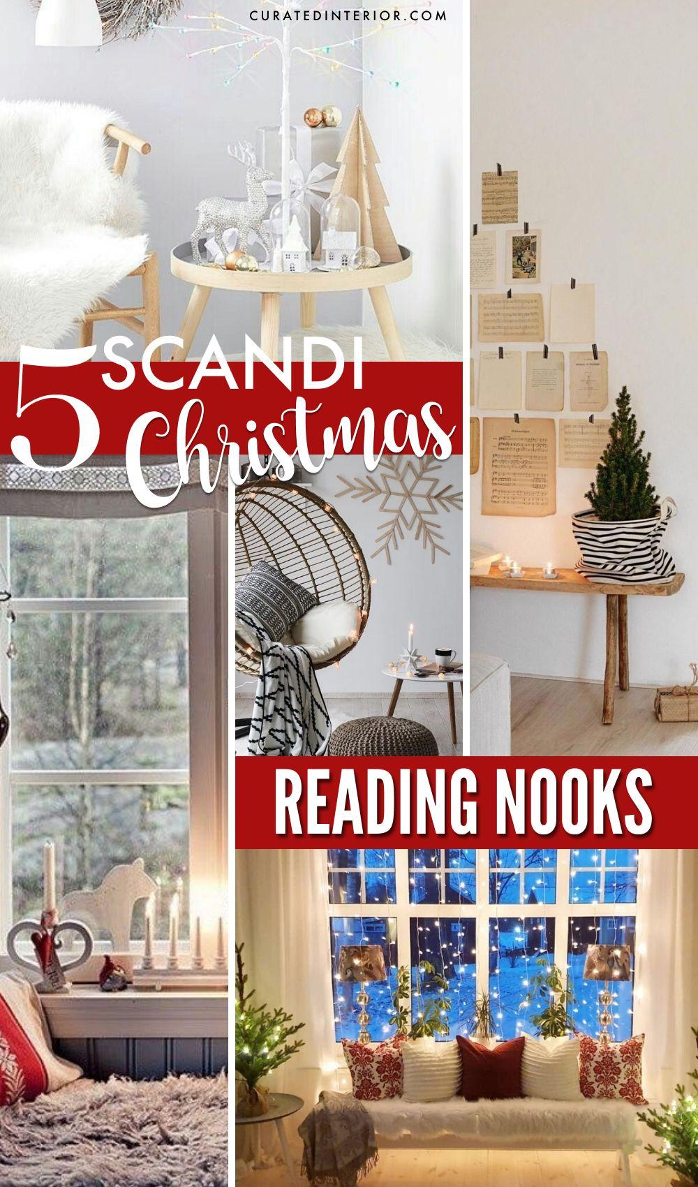 5 Scandi Christmas Reading Nooks