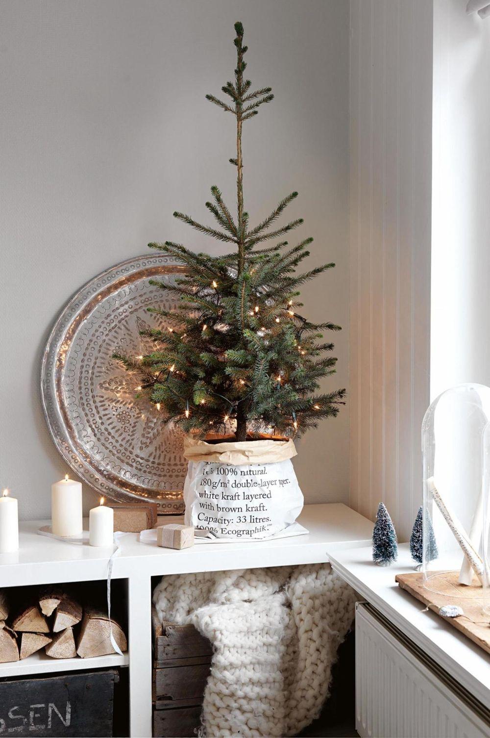 25 scandi christmas vignettes. Black Bedroom Furniture Sets. Home Design Ideas