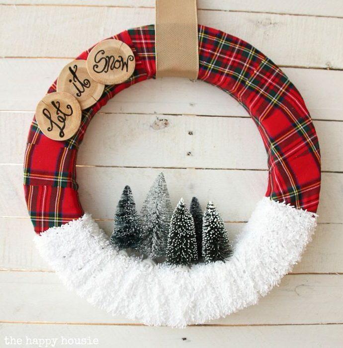 27 Festive DIY Christmas Wreaths