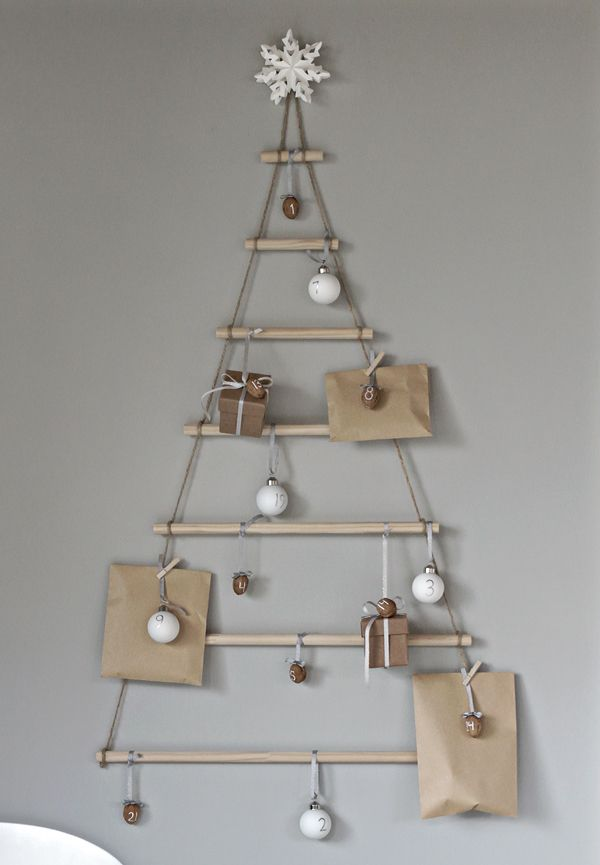 DIY Scandinavian Advent Calendar via stylizimoblog