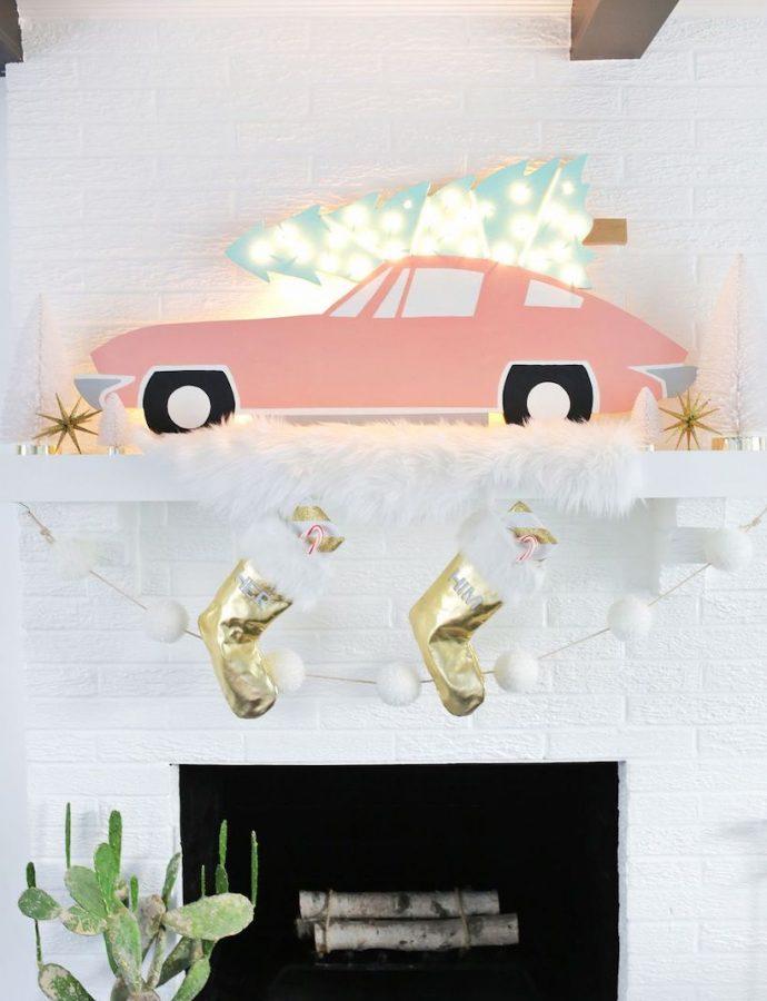 15 Retro Christmas Decorations