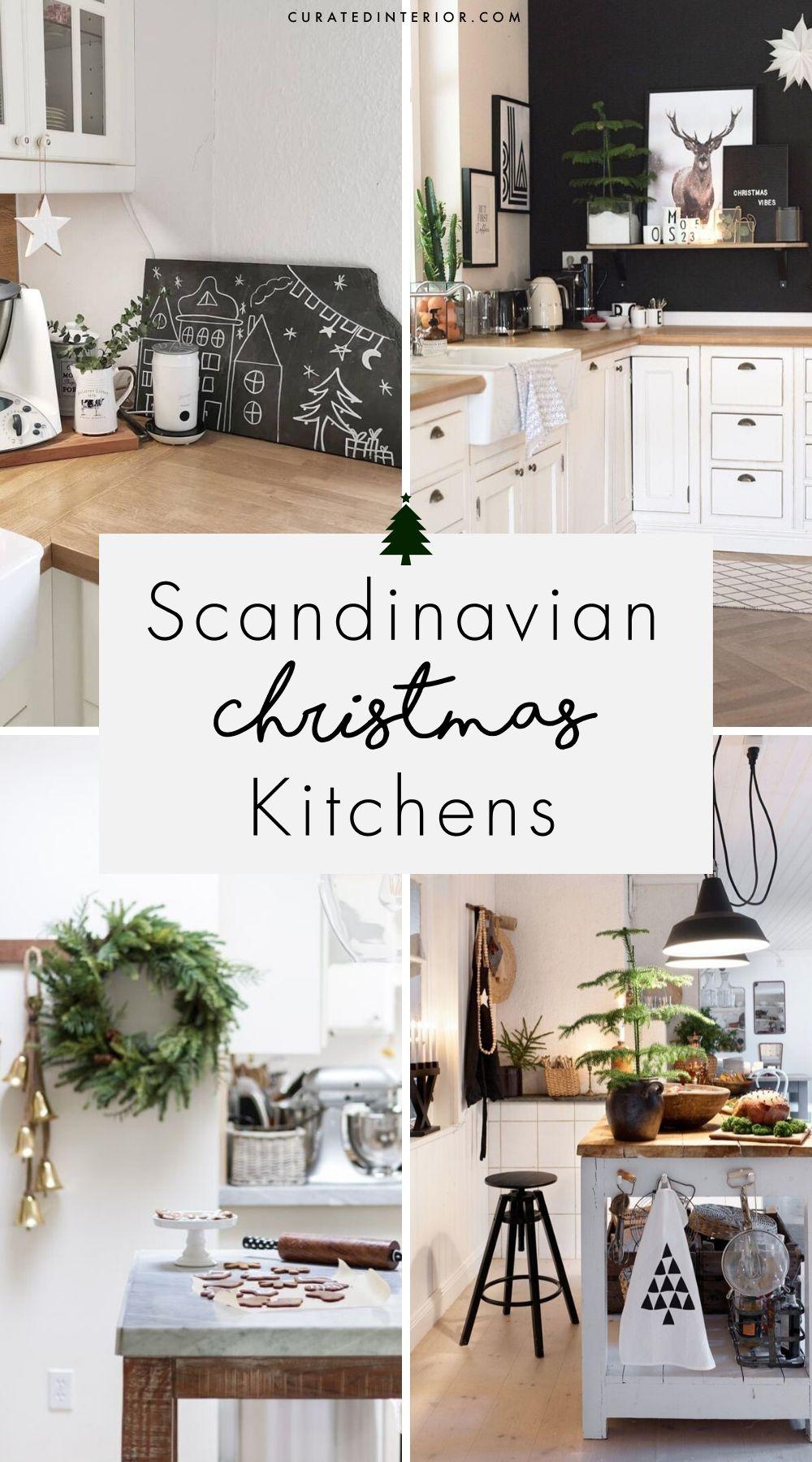 Scandinavian Christmas Kitchens