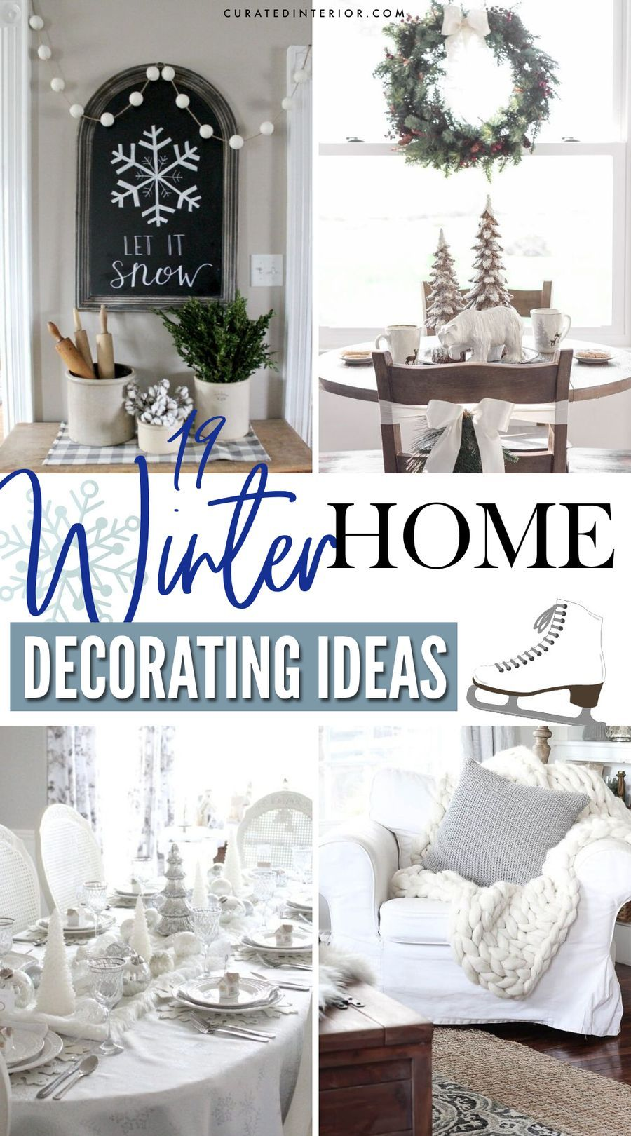 19 Winter Home Decorating Ideas
