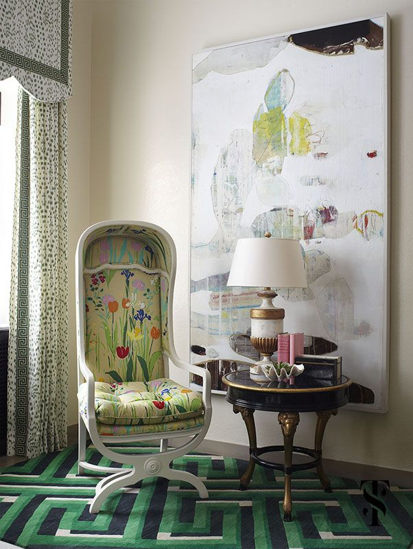 Neo-Trad Contemporary Patterns via Summer Thornton Design