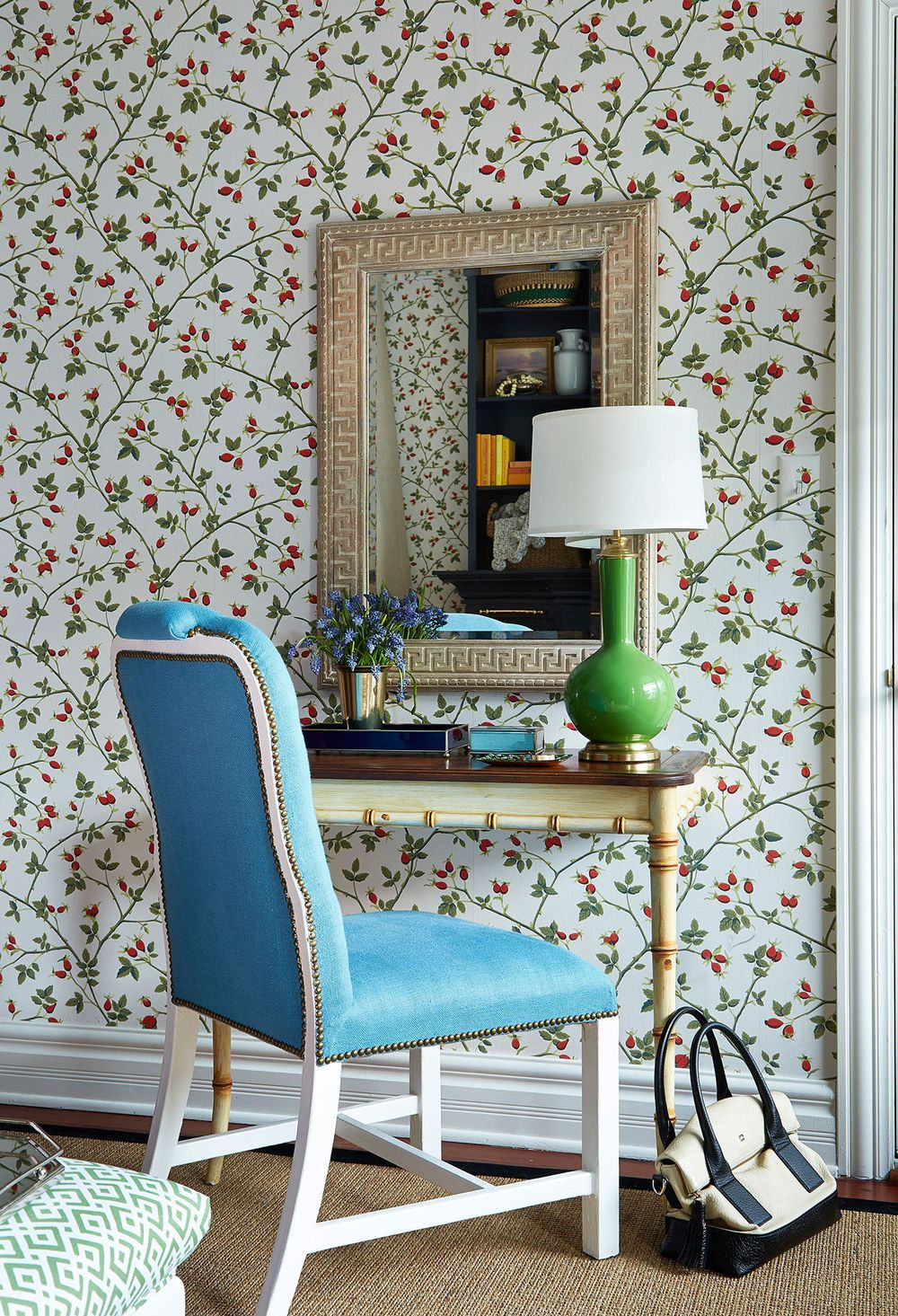 Neo-trad Rich Colors via Summer Thornton Design