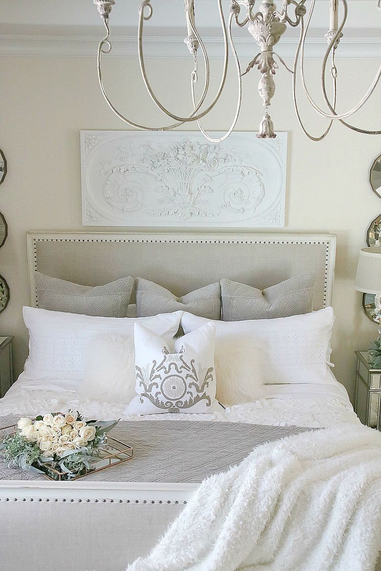 19 French Country Bedrooms To Make You Swoon,Signs Like Live Laugh Love
