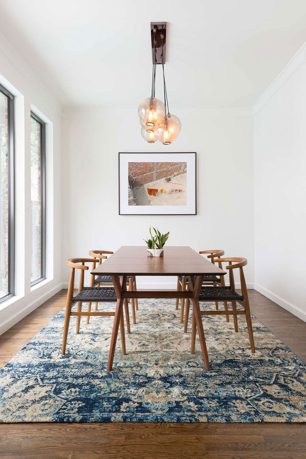 25 Sleek Mid Century Modern Dining Tables