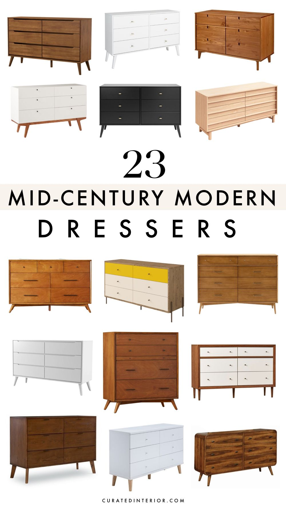 23 Best Mid Century Modern Dressers
