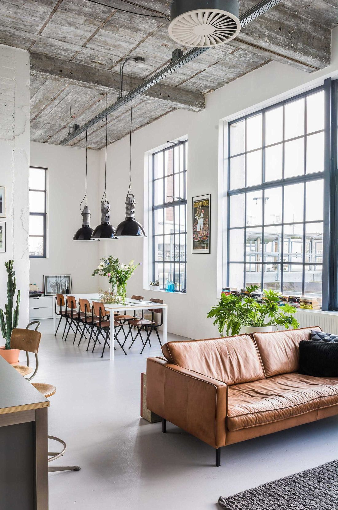 17 Industrial Sofas For The Living Room