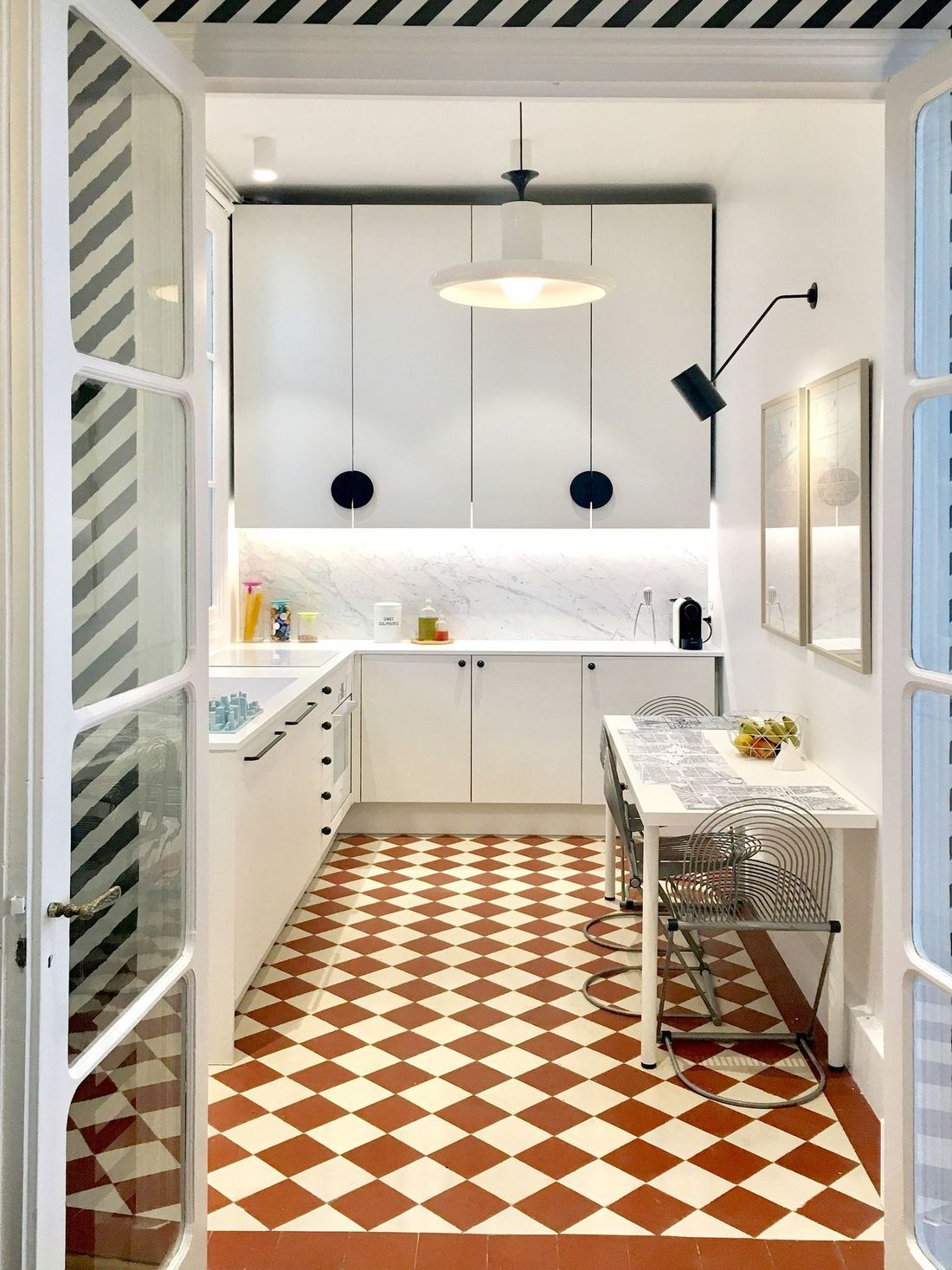 10 Inspiring Parisian Kitchen Design Decor Ideas