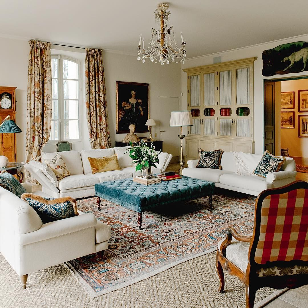 French Country Living Room Decor Ideas, Country Living Room Ideas