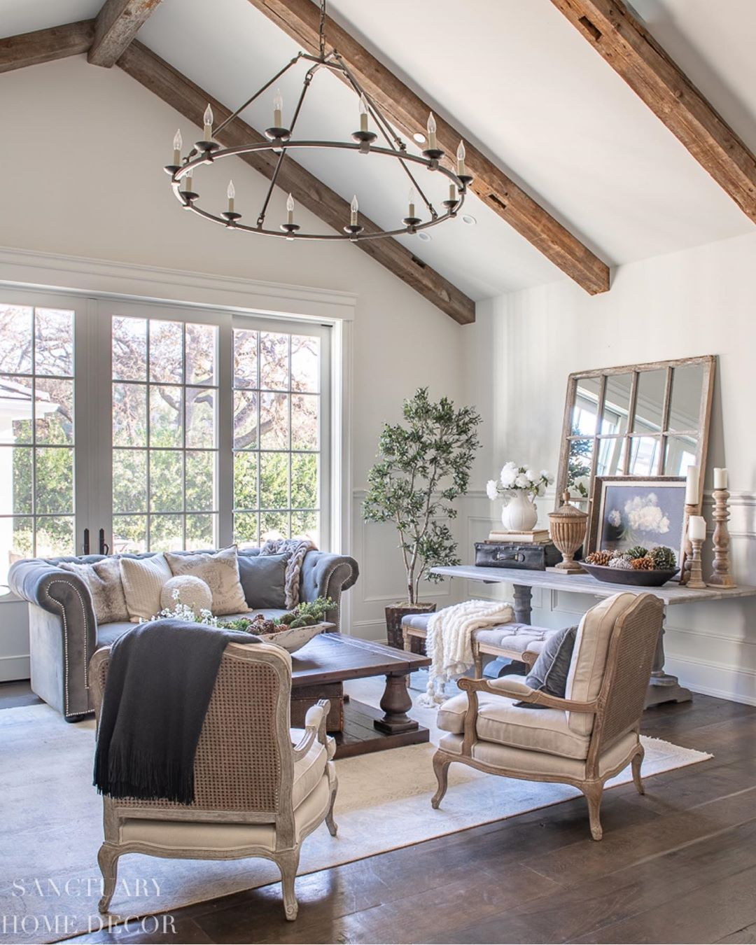 23 stunning french country living room decor ideas