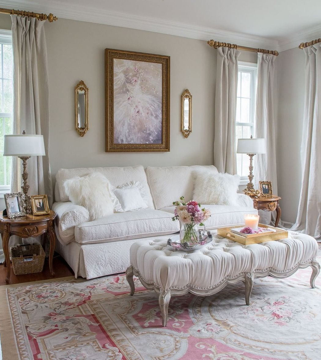 French Country Living Room Decor Ideas, French Country Style Living Room