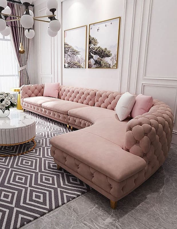 21 Best Glam Sofas For Your Living Room, Which Type Of Sofa Is Best For Living Room