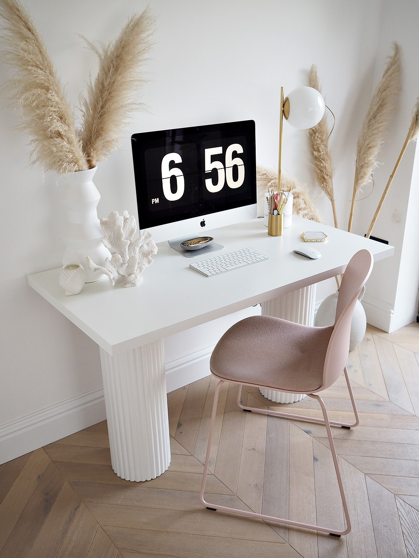 DIY Neutral Desk für das Home Office über LustLiving