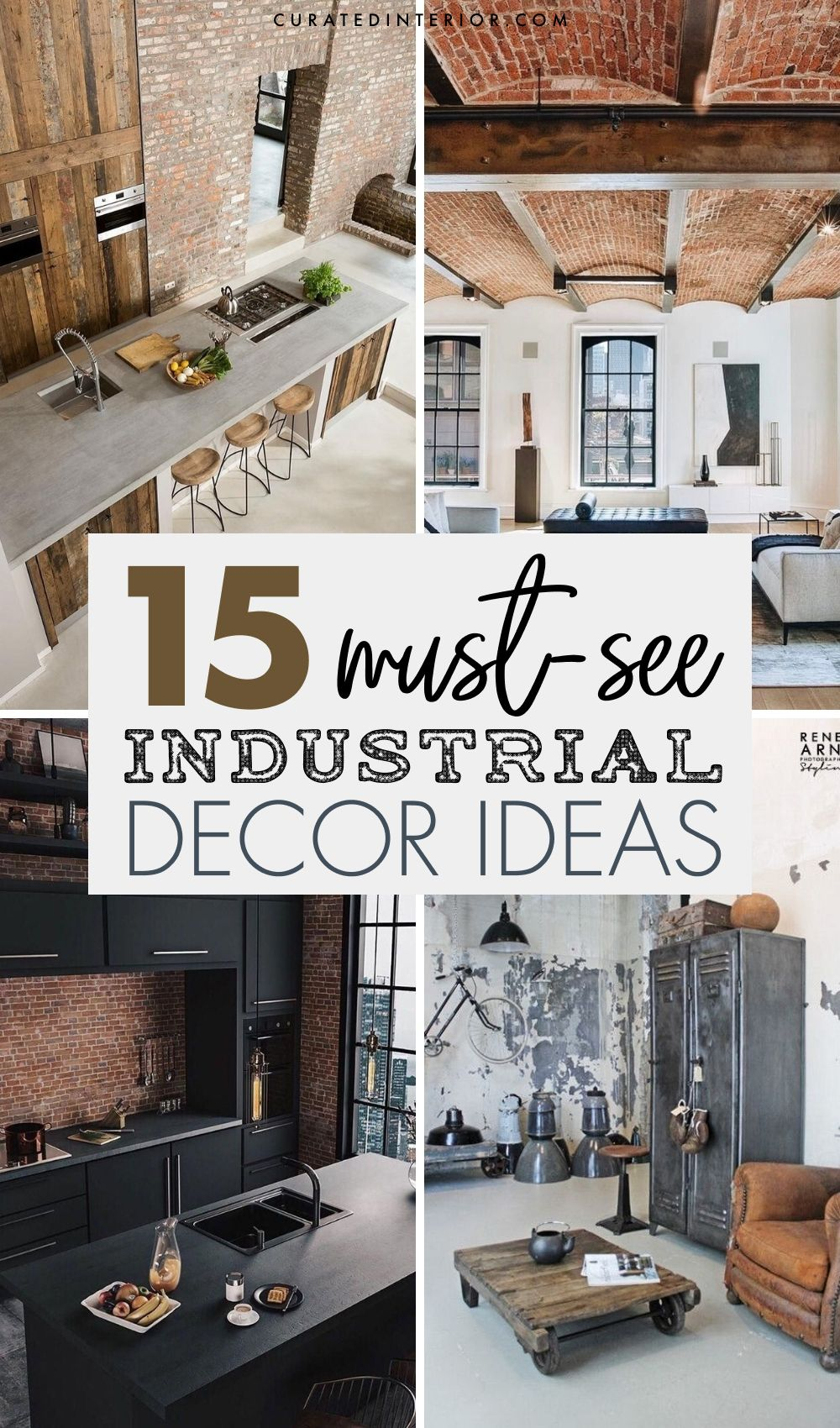 15 Key Elements Of Industrial Decor And Interior Design