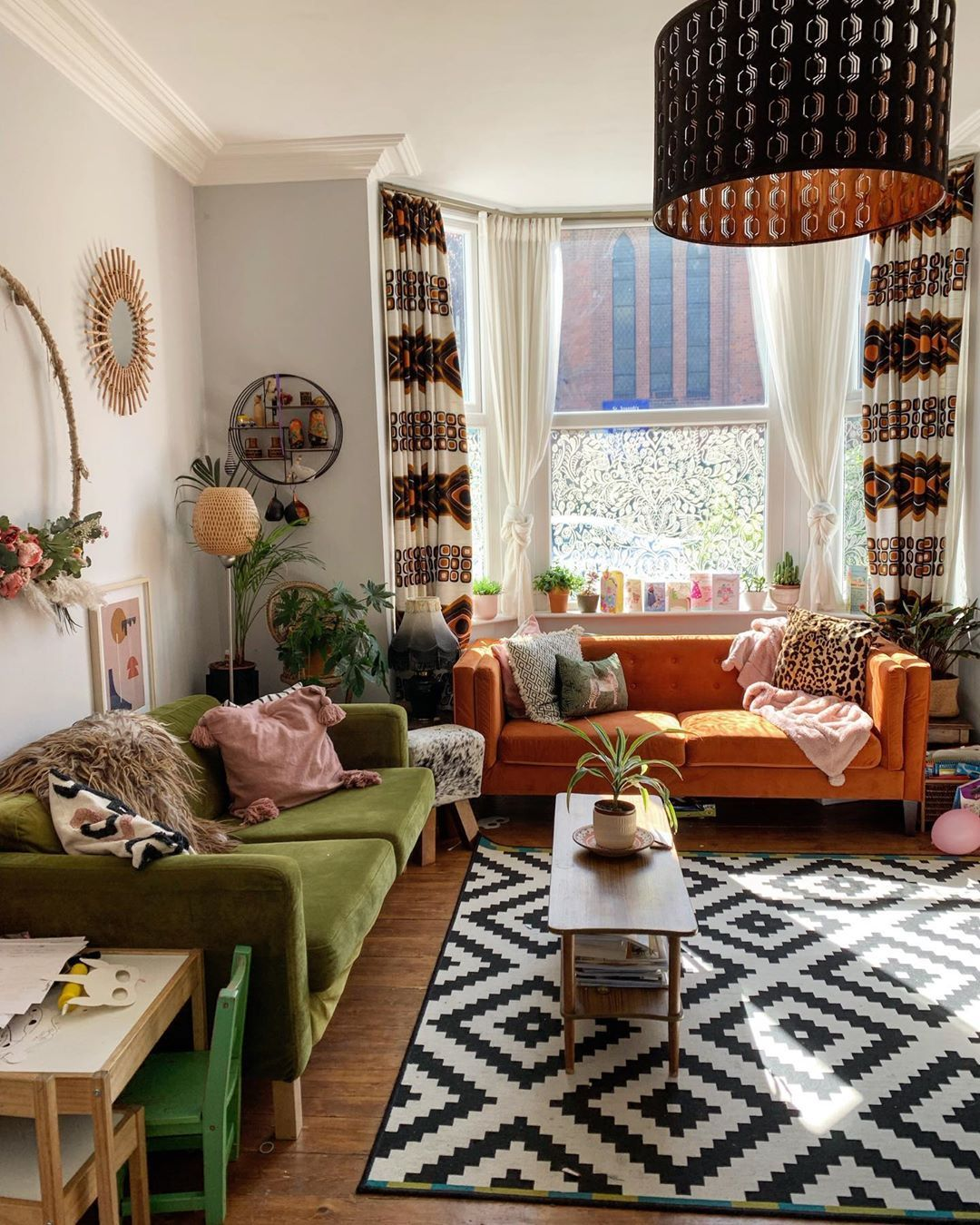21 Quirky Bohemian Living Room Decor Ideas