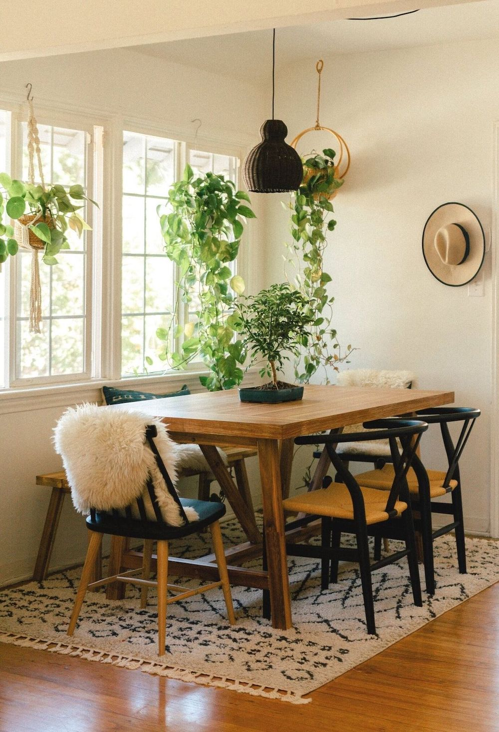 Bohemian Dining Table Set Off 52, Bohemian Style Dining Room