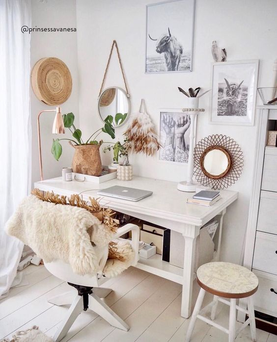 12 Eclectic Bohemian Office Decor Ideas