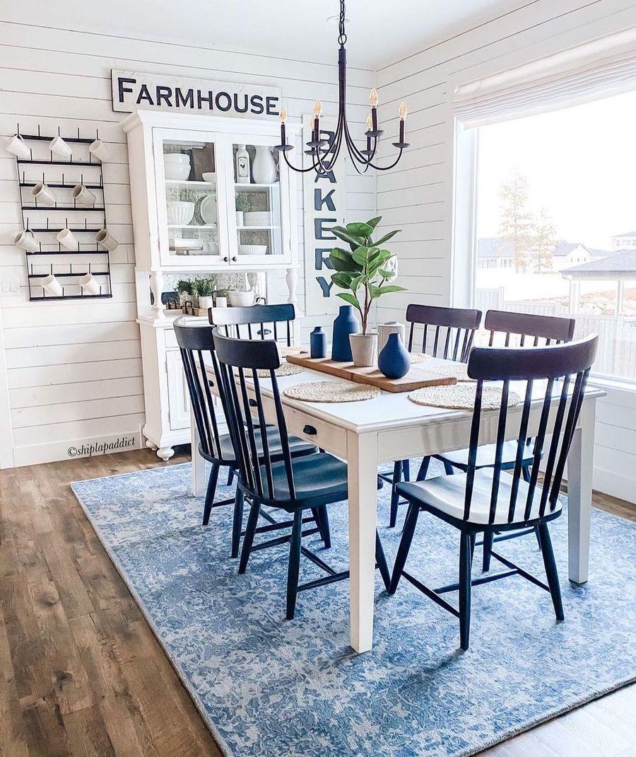 15 Amazing Farmhouse Dining Room Decor, Farmhouse Dining Room