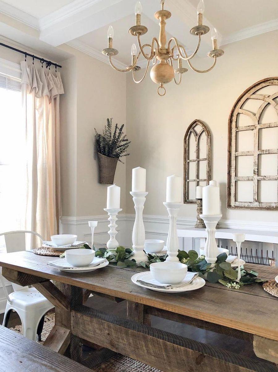 15 Amazing Farmhouse Dining Room Decor Ideas Trends