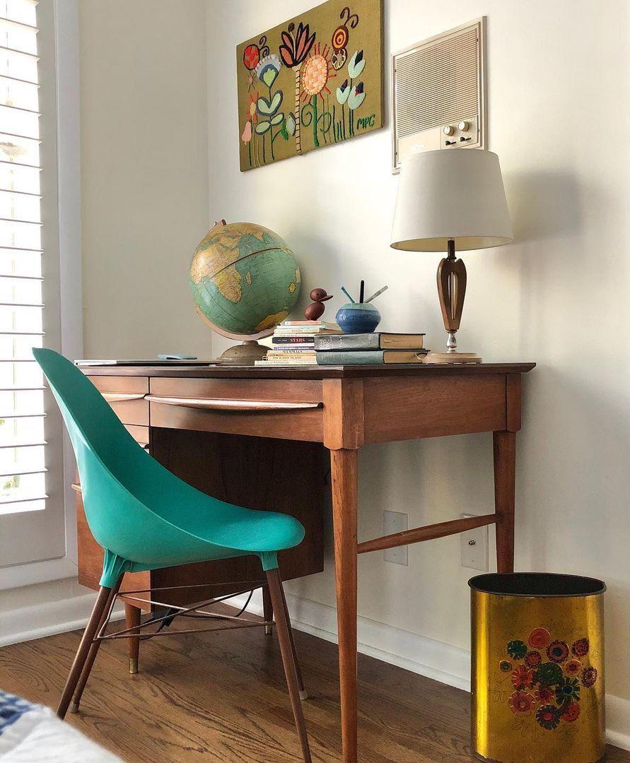12 Brilliant Mid Century Modern Office Decor Ideas