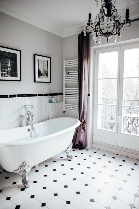 10 Must See Parisian Bathroom Decor Ideas