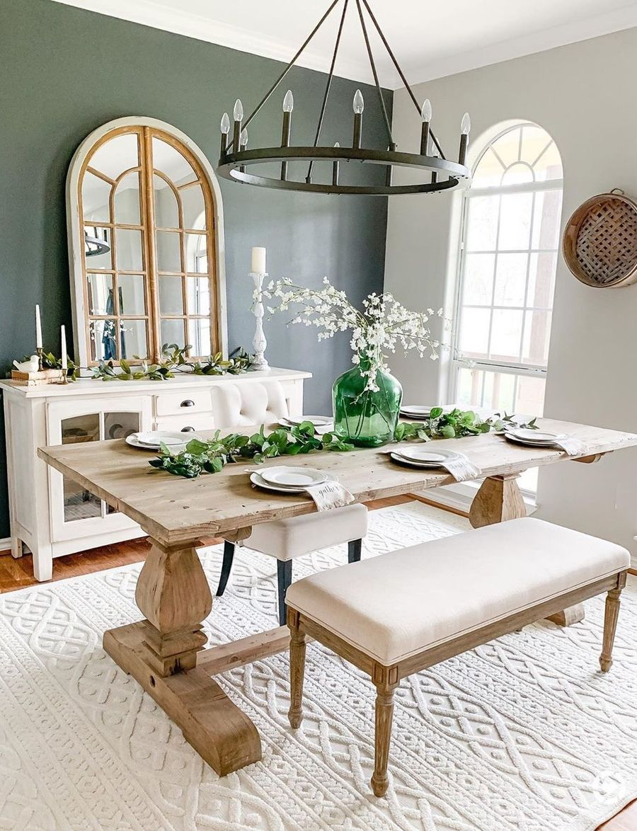 15 Amazing Farmhouse Dining Room Decor Ideas Trends