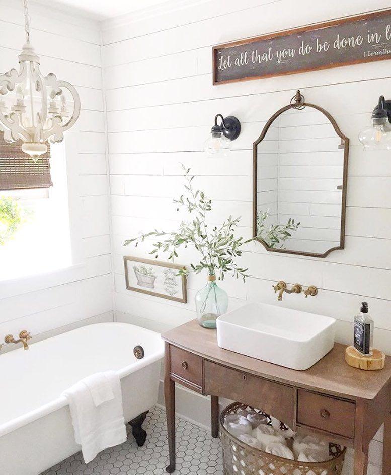 Modern Farmhouse Bathroom Decor Ideas, Modern Farmhouse Bathroom Decor Ideas