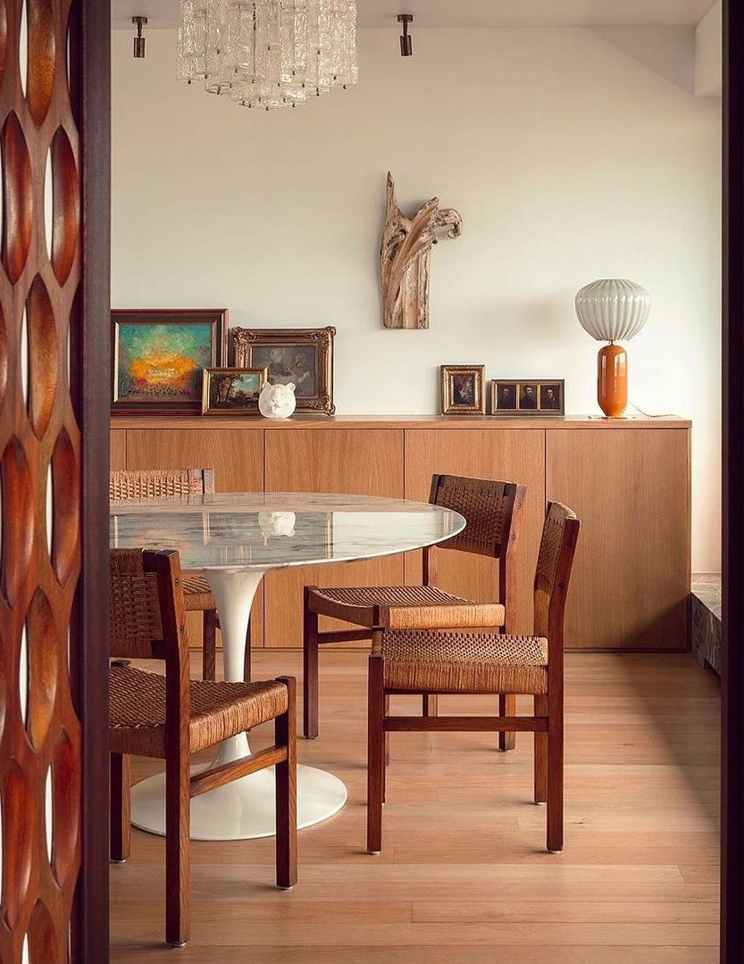 29 Mid Century Modern Dining Room Decor Ideas For Timeless Style
