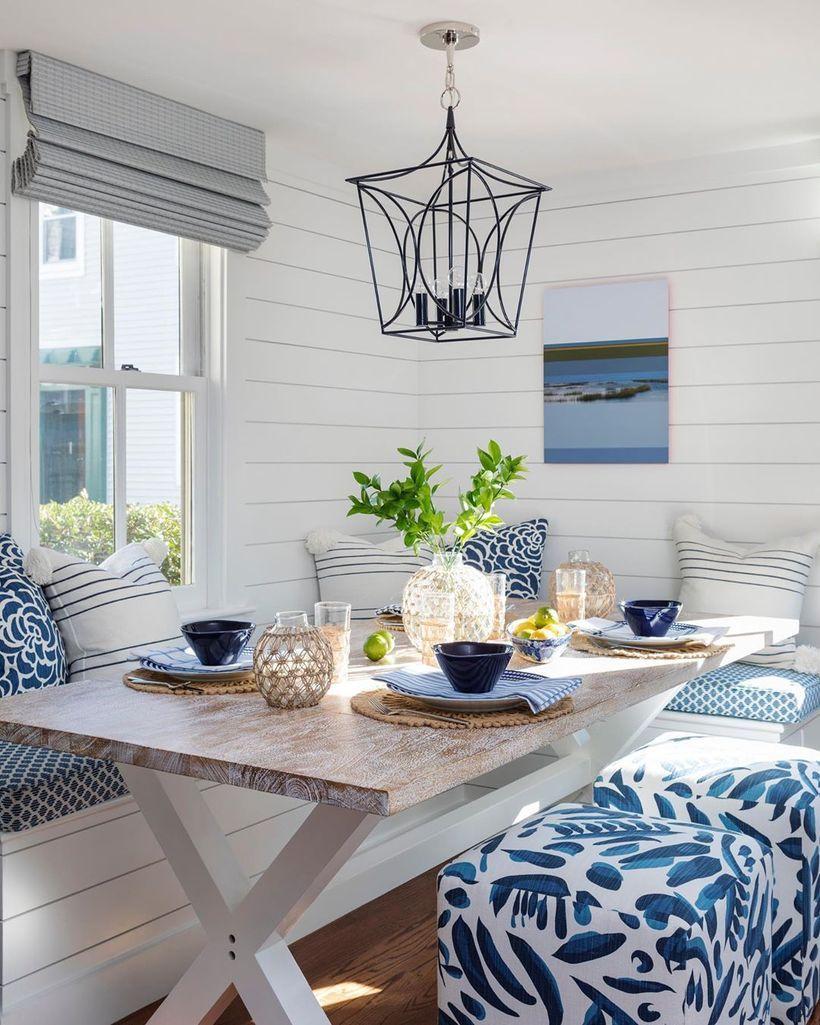 7 Coastal Breakfast Nooks For Cozy, Dining Room Nook