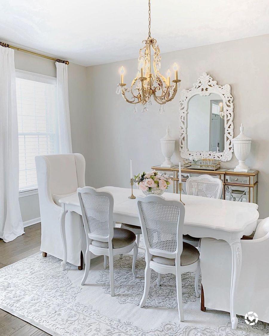 10 Sophisticated Feminine Dining Room Decor Ideas