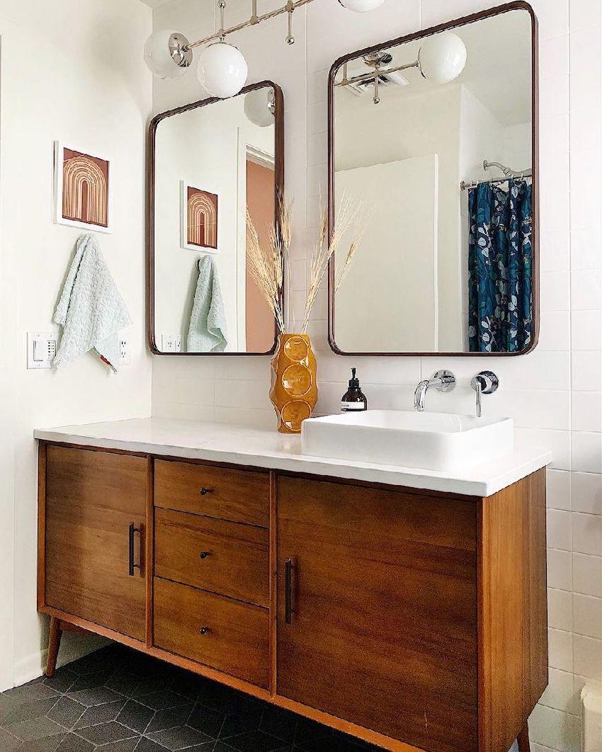 17 Mid Century Modern Bathroom Design Ideas