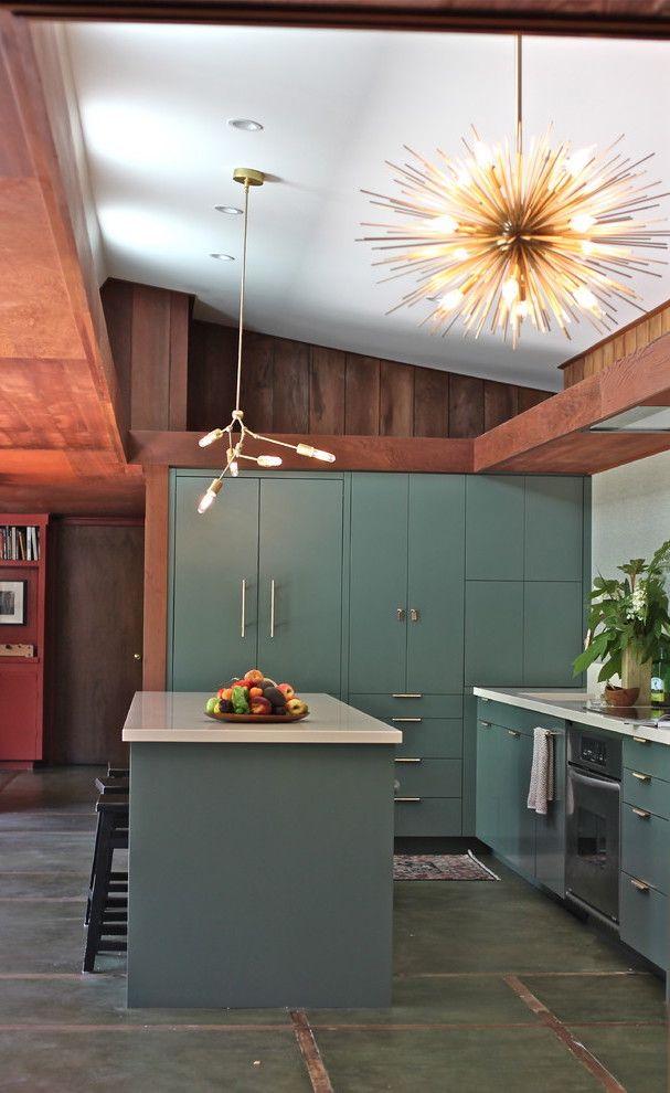 40 Best Mid Century Modern Kitchens For Inspiration