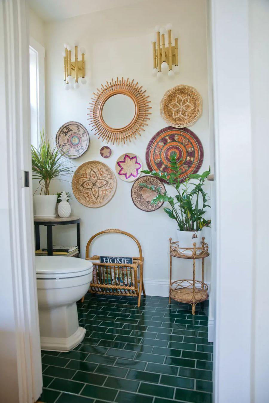 20 Bohemian Bathroom Decor Ideas & Trends